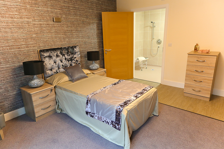 Resident's Room at High Meadows Care Home Pinner