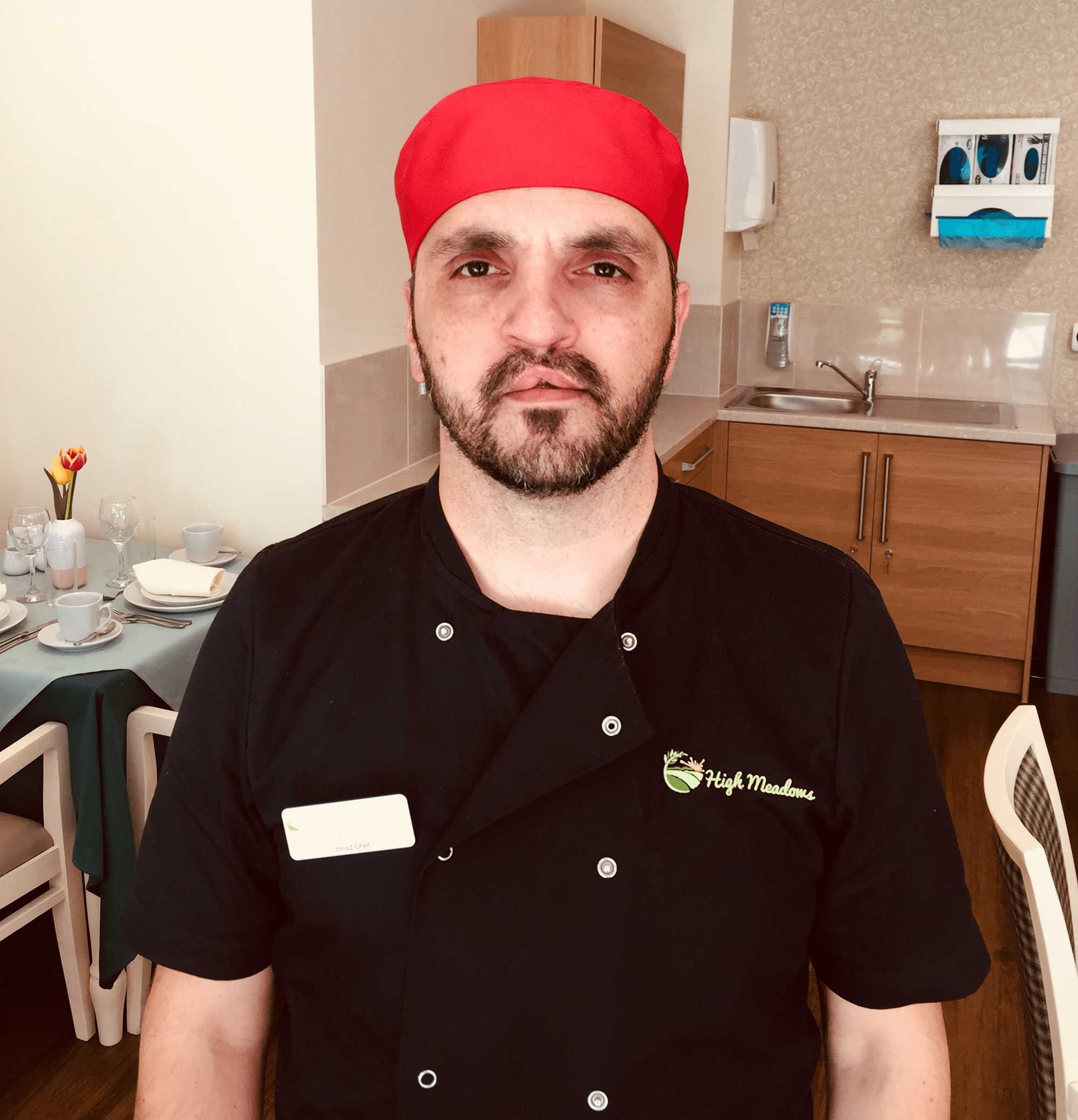 Dan Rosu - Head Chef at High Meadows Care Home